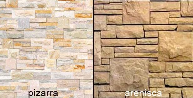 C mo hacer un mini revestimiento de piedras laja - Revestimientos para paredes exteriores en piedra ...