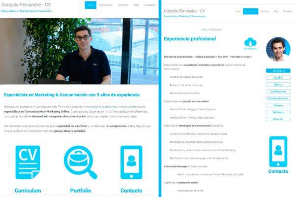 Como diseñar un currículum por internet. Currículum online: claves para diseñarlo. Pasos para crear un currículum web