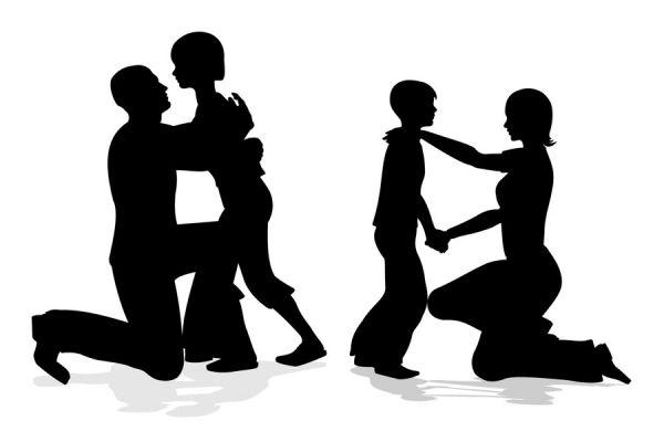 Claves para no discutir frente a los niños. Consejos para evitar discusiones frente a los hijos. La importancia de no discutir delante de los hijos