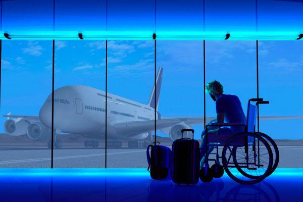 Consejos para viajar con personas en silla de ruedas. Tips para viajar con discapacitados. Qué debes saber antes de viajar con personas discapacitadas