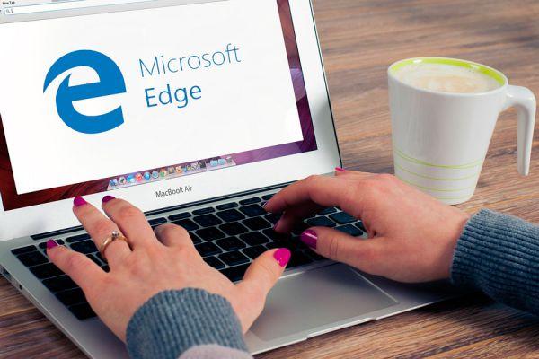 Funciones de navegacion de Microsoft edge. Nuevas funciones para usar microsoft edge. Navegar con edge.