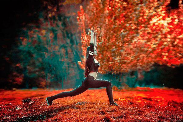 3 ejercicios básicos de yoga. Rutina de yoga simple para principiantes. Practicar yoga en casa. Posturas de yoga basicas para principiantes