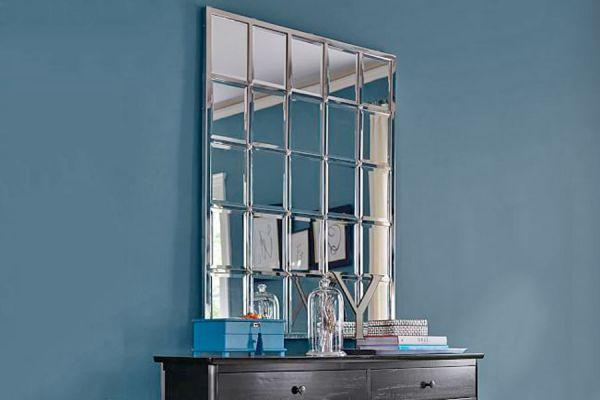 Cómo hacer un espejo en mosaicos con una sola pieza. cómo crear un espejo en mosaicos con marcos de fotografías