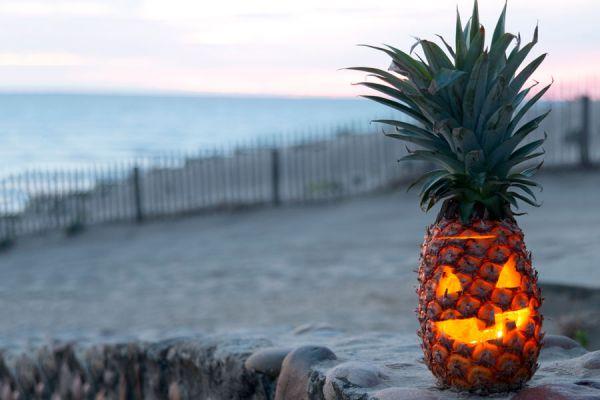 Pasos para crear linternas para halloween con frutas. Cómo crear una linterna para halloween con limones, pomelos o naranjas