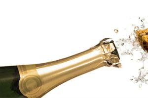 Ilustración de C&oacutemo conservar botellas de champagne