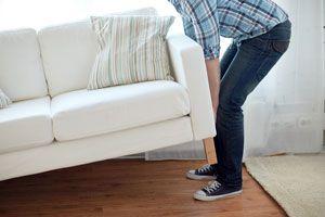 Ilustración de Cómo mover o desplazar los muebles fácilmente