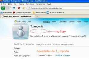 Como ver el perfil de un contacto de Messenger