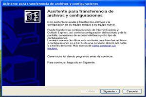 Ilustración de Recuperar o trasladar la configuración y archivos de una PC a otra