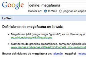 Ilustración de Encontrar la definición de una palabra en google