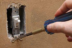 Ilustración de Cómo Reparar un Interruptor