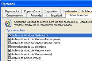 Ilustración de Como asociar archivos para que Windows Media los abra automáticamente