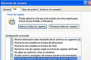 Ilustración de Cómo ver las extensiones de los archivos en el explorador de Windows