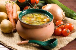 Ilustración de Consejos para preparar caldo para sopa