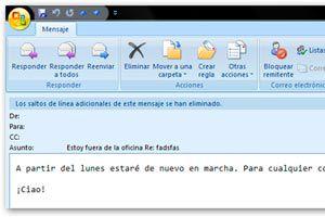Ilustración de Como configurar una respuesta automática en GMail