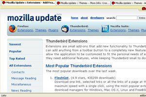 Ilustración de Como instalar y añadir extensiones al Mozilla Thunderbird
