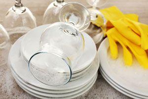 Ilustración de Consejos a la hora de lavar los platos