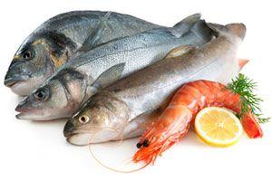 Ilustración de Cómo elegir pescados y mariscos