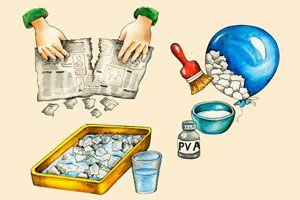 Ilustración de ¿Cómo se hace la Cartapesta?