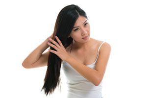 Ilustración de Como cuidar el cabello normal