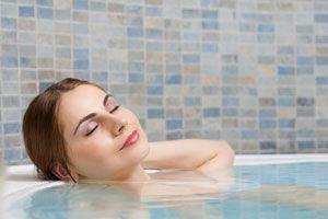 Ilustración de Cómo preparar un baño relajante