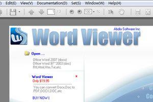 Ilustración de Como abrir archivos .DOC sin tener WinWord (Office)