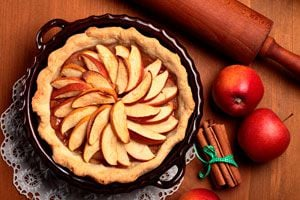 Ilustración de Cómo Preparar Exquisitas y Rápidas Tortas de Manzanas