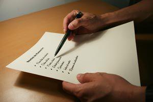Ilustración de Cómo preparar una lista de regalos para tu boda