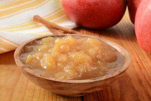 Ilustración de Cómo preparar compota de manzanas