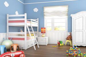 Ilustración de Cómo decorar un dormitorio infantil