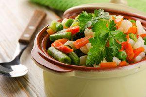Ilustración de Cómo Cocinar las Verduras al Vapor