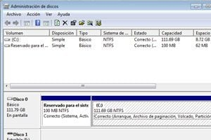 Ilustración de Como cambiar el tamaño de una partición en Windows Vista