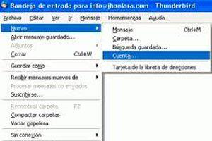 Ilustración de Como configurar Thunderbird 2.0 para leer correo de Gmail