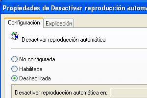 Ilustración de Como deshabilitar la reproducci&oacuten autom&aacutetica de CD o DVD