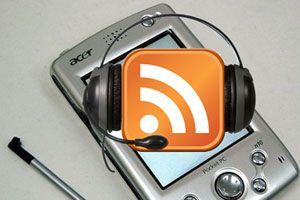 Ilustración de Cómo oir Podcast en una PDA