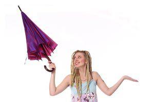 Cómo conservar y limpiar un paraguas