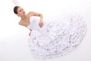 Ilustración de Cómo guardar el vestido de novia