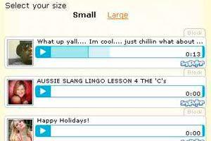 Como insertar una imagen con voz en Hi5, MySpace, Blogger o su Web