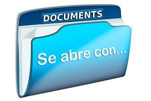 Ilustración de Como asociar un tipo de archivo a un programa determinado