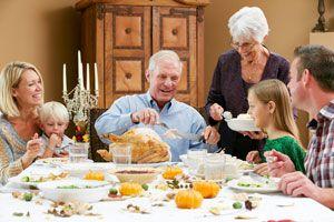 Ilustración de Cómo preparar una cena con los suegros