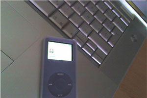 Ilustración de Como configurar el iPod como disco duro