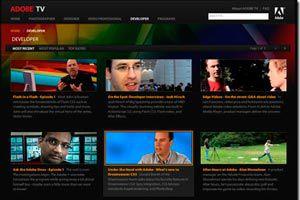 Ilustración de Como ver TV online con Adobe TV