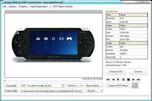 Ilustración de Cómo ver un DVD en la PSP de Sony