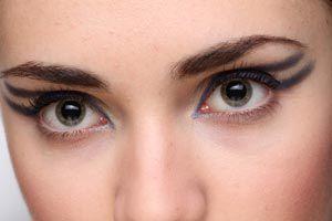 Ilustración de Cómo utilizar las sombras en el maquillaje