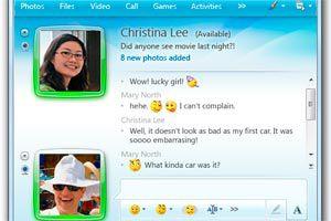 Ilustración de Como hablar por teléfono con el Messenger