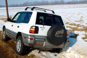 Ilustración de Cómo conducir un coche 4x4 en la nieve o hielo