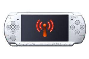 Ilustración de Cómo conectar la PSP a una red inalámbrica