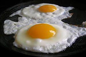 Ilustración de Cómo Cocinar Huevos Fritos