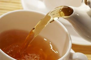 Ilustración de Cómo preparar una buena taza de té