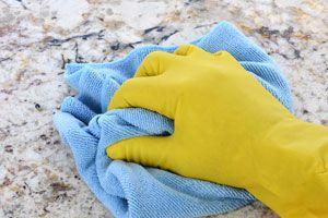 Ilustración de Cómo Cuidar y Limpiar los Suelos de Granito