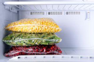 Ilustración de Cómo Guardar los Alimentos en el Freezer